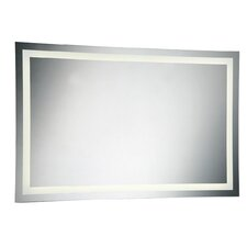 Large Front-Lit LED Mirror