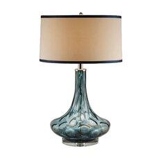 "Amber Thumb Print 28"" Table Lamp (Set of 2)"