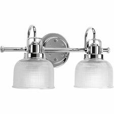 williamson 2 light vanity light - Modern Bathroom Vanity Lighting