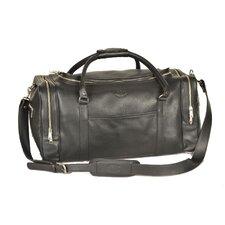 "22"" Leather Travel Duffel"