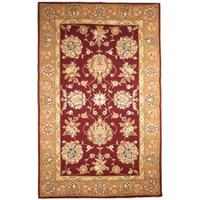 Traditions Masterpiece Red/Gold Area Rug