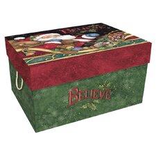 Bob's Santa Believe Ornament Box