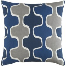 Arsdale Square Cotton Throw Pillow Cover