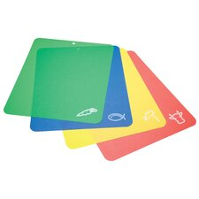 Boards Flexible Colour Coded Cutting Mats