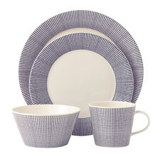 Pacific 4 Piece Place Setting, Service for 1