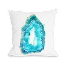 Petite Formations Fleece Throw Pillow