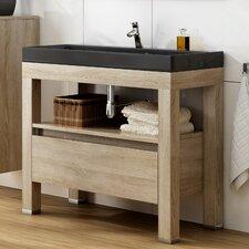 100 cm Waschbeckenunterschrank Ambiente
