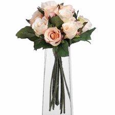 Alouette Bunch Of Peach Roses Floral Arrangements