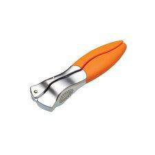 Colourworks Orange Garlic Press with Soft Touch Handle