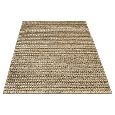 Old Farm Hand-Woven Taupe Rug