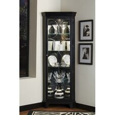 Mcneal Corner Curio Cabinet