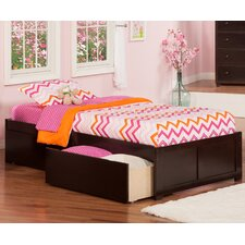 Mackenzie Extra Long Twin Platform Bed with Storage