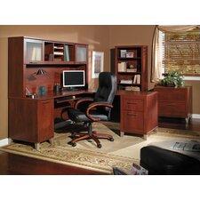Chase 4 Piece L-Shape Desk Office Suite