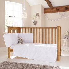 Broderie Anglaise 3-Piece Cot Bedding Set