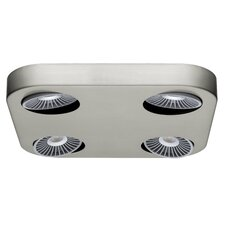 Audrey 4-Light Flush Mount