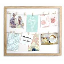 Clothesline Photo Display