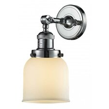 Glass All 1-Light Armed Sconce