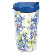 Garden Party Bluebonnet Tumbler with Lid
