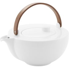 1,0 L Teekanne CHAI Weiß aus Porzellan