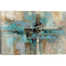 """""""Morning Fjord"""" by Silvia Vassileva Painting Print on Wrapped Canvas"""