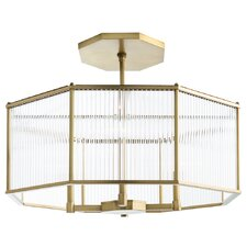 Windsor Smith for Arteriors 4-Light Drum Chandelier