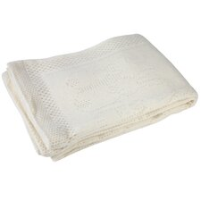 Brushed Patterned Pram Blanket
