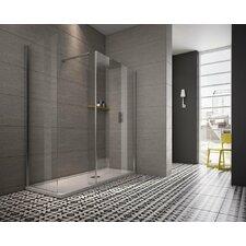 Worcester 86cm W x 1.8cm D x 200cm H Rectangular Walk In Shower Enclosure