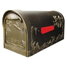 Hummingbird Post Mounted Mailbox