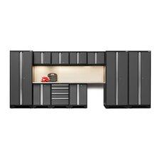 "Bold 3.0 Series 77.25"" H x 186"" W x 18"" D 12-Piece Storage Cabinet Set"