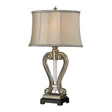 "Silver Harp 17"" Table Lamp"