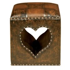 Oria Heart Footstool