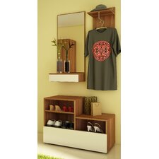 Cintia 3 Piece Wardrobe Set