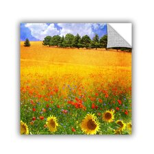 Wild Flowers by Chris Vest Wall Mural