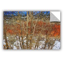 Red Yellow Willow by Chris Vest Wall Mural