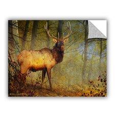 Aspen Forest Bull Elk by Chris Vest Wall Mural
