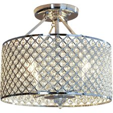 Harrell 4-Light Semi Flush Mount