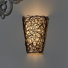 Camelon 6-Light Wicker Wall Sconce