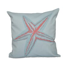 Decorative Starfish Throw Pillow