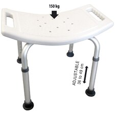 Adjustable Metal Free Standing Shower Chair