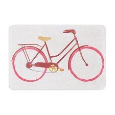 Alik Arzoumanian Bike Memory Foam Bath Rug