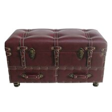 Faux Leather Trunk