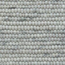 Handgearbeiteter Teppich  in Grau