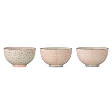3 Piece Ceramic Bowl Set