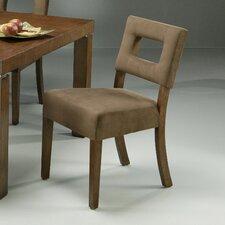 Jakarta Dining Chair with Passion Suede Earth Fabric