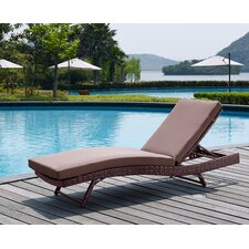 Rebecca Patio Lounger with Cushion