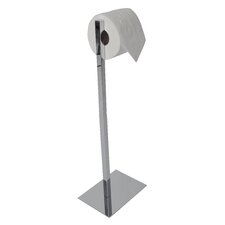 Essentials Freestanding Rectangular Base Toilet Paper Holder