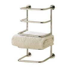 Essentials 4 Tier Wall Mounted Towel Rack