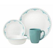Livingware Garden Lace 16 Piece Dinnerware Set, Service for 4