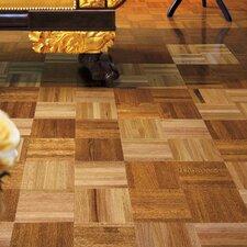 """Urethane Parquet 12"""" Solid Oak Parquet Parquet Hardwood Flooring in Standard"""