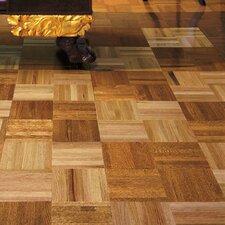 """Urethane Parquet 12"""" Solid Oak Parquet Hardwood Flooring in Standard"""